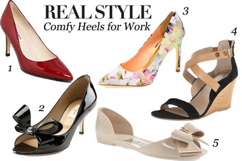 how to be comfortable in heels five comfortable heels to wear to work fashion