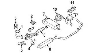 Nissan Micra Exhaust System Diagram 2006 Nissan Quest Parts Mileoneparts