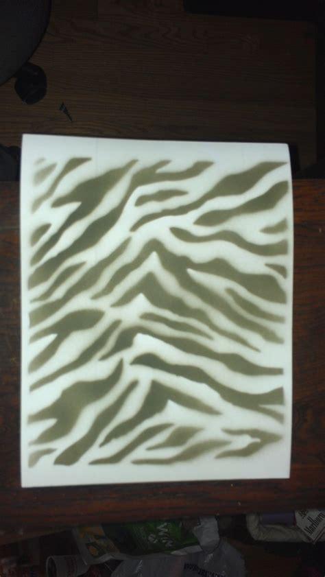 zebra pattern in camera zebra stencil negative 1 by sereth812 on deviantart
