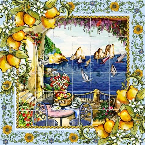 reasons  love capri mascadas ceramica italiana