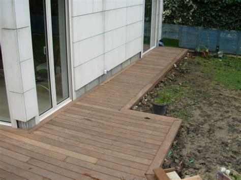 Terrasse en ipé en agrandissement de terrasse