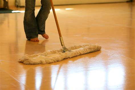 How To Use A Floor by Floor Maintenance Sprung Floors
