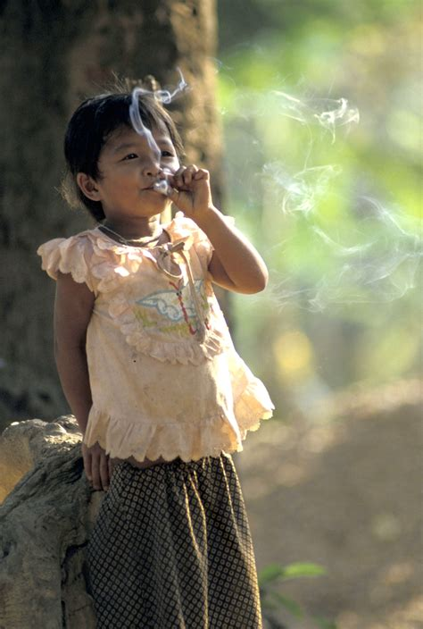 very young little girls smoking who tobacco multimedia centre