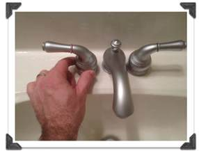 how to fix a leaky bathroom sink faucet handle kitchen faucet leaking from handle images delta bathroom