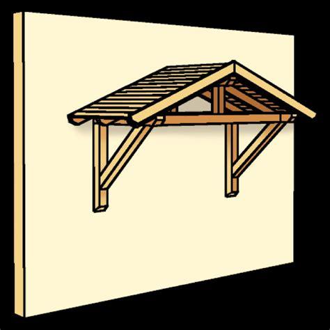 holz vordach skanholz 171 stralsund 187 f 252 r haust 252 ren satteldach - Vordach Holz