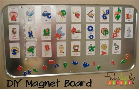 Magnet Board by Diy Magnet Board For Your