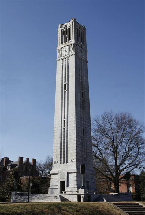 Ncsu Search Bell Tower Ncsu Memorial Belltower Raleigh N C Mc00336 Bell Tower Feb 2010