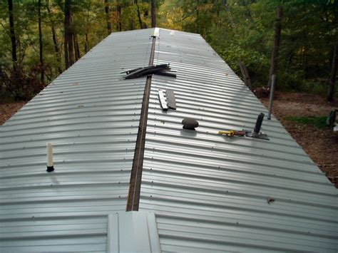 metal roof put metal roof mobile home