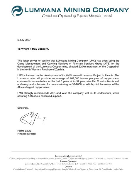 business letter format with to whom it may concern letter format to whom it may concern best template