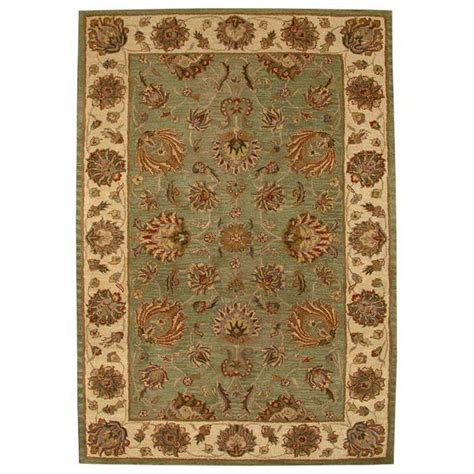 green and gold rug hg343a 2 safavieh hg343a 2 heritage area rug in green gold goingrugs