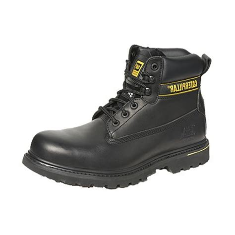 caterpillar holton s3 708029 s black boots free