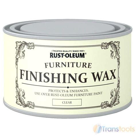 chalk paint wax finish rust oleum clear finishing wood furniture wax