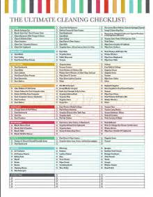 cleaning checklist printable the ultimate house cleaning checklist printable pdf to