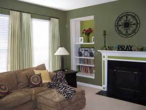 paint ideas for living room with browny colors wall