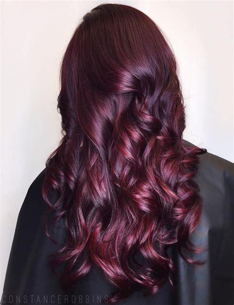 burgundy purple hair color 50 shades of burgundy hair burgundy maroon