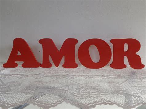 imagenes animadas con letras de amor letra lisa 20 cm altura valor unit 225 ri hilario