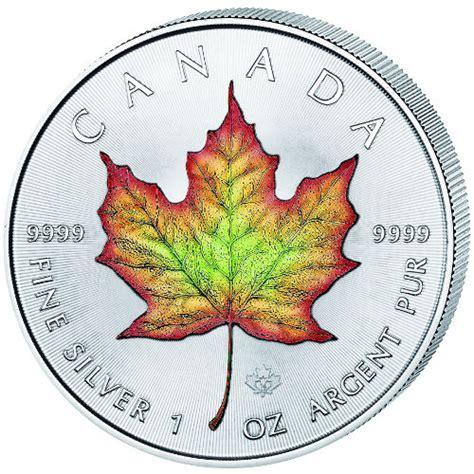 1 oz 2016 canadian maple leaf silver coin buy 2016 1 oz colorized silver canadian maple leafs