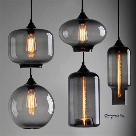Pendant Glass Lights Deco Glass Pendant Light By Unique S Co Notonthehighstreet