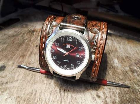 reloj brazalete cuero brazalete para reloj de cuero estilo western 920 00 en