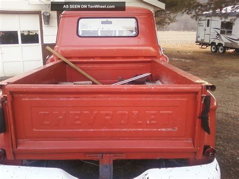 stepside bed 1957 chevy pick up 3100 short bed stepside