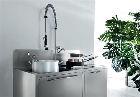 sleek and sumptuous stainless steel kitchen by abimis cook like a pro with abimis stainless steel kitchen