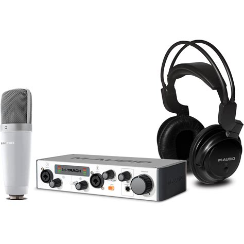 format audio mms m audio vocal studio pro ii bundle with usb