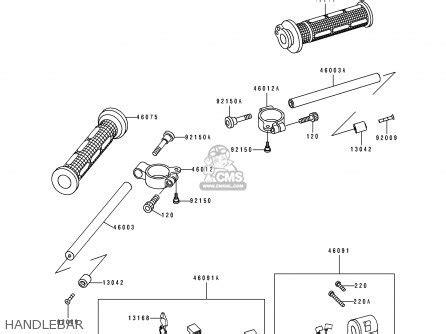 Cover Fr Fork Side Locean Green M Shogun 110 Xsd Sgp 51882 23f00l00 kawasaki zx750m1 zx7r 1993 usa california canada parts list partsmanual partsfiche