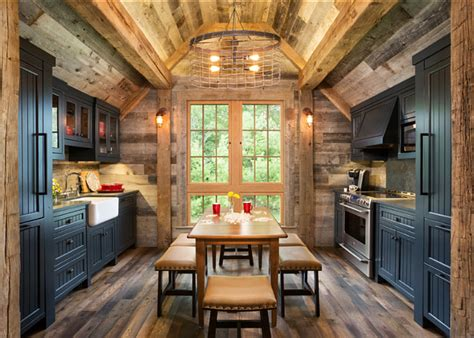 rustic kitchen design ideas bunk house with rustic interiors home bunch interior
