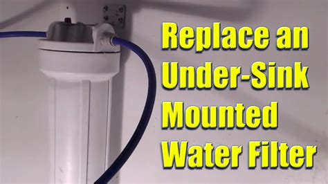 how to replace sink water filter sink water filter without faucet