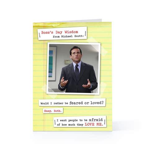 boss day quotes michael scott quotesgram