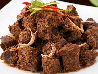 Rendang Kering Rendang Kaleyo Rendang Daging Khas Minang resep cara membuat rendang daging kumpulan resep masakan indonesia lengkap