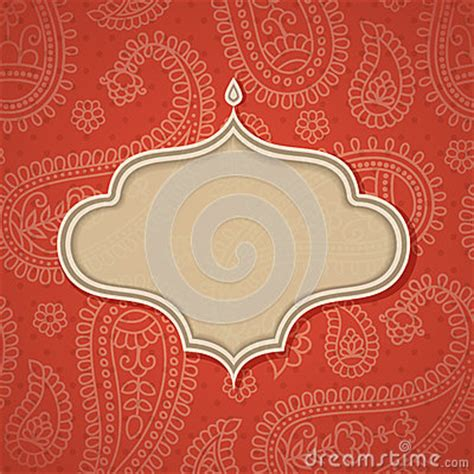 indian pattern frame indian frame royalty free stock image image 25417926