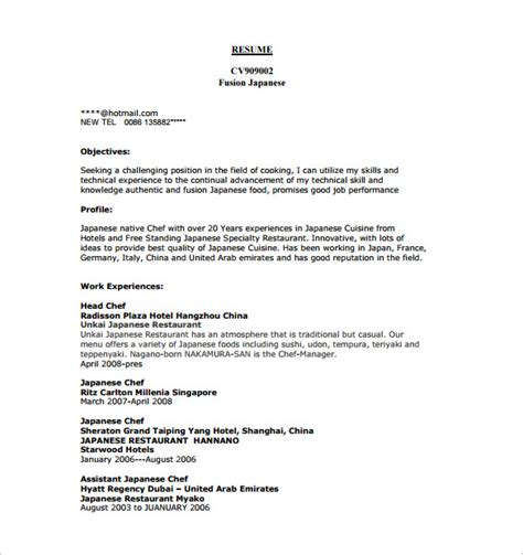 commis chef cover letter exle cover letter templates