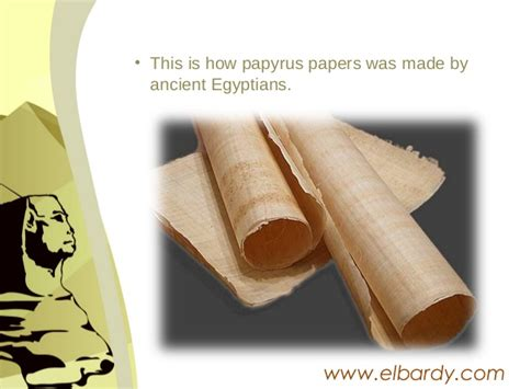 How To Make Papyrus Paper - how to make papyrus paper