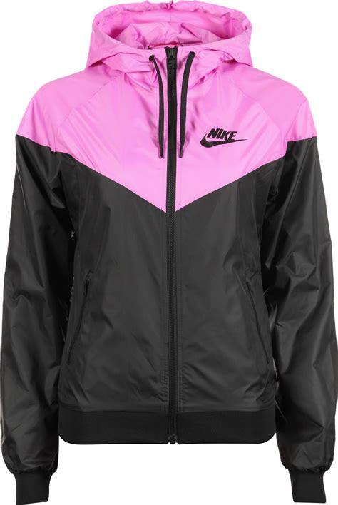 Nike Windrunner Pink Black Nike Windrunner W Jacket Black Pink
