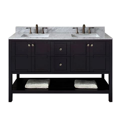 home decorators collection austell espresso 37 in vanity home decorators collection austell 67 in double vanity in