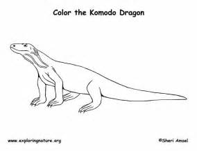 coloring pages komodo komodo coloring page