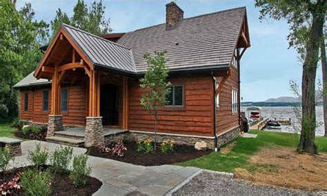 lakefront cottage plans small lakefront home plans small retirement home plans