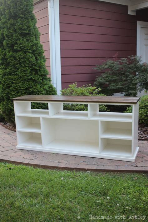 diy apothecary console plans  ana white handmade