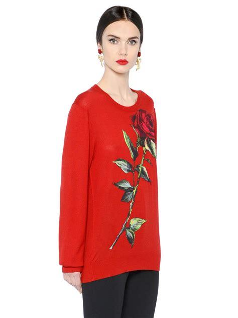Pb Stradivarius Hem lyst dolce gabbana patch on sweater in