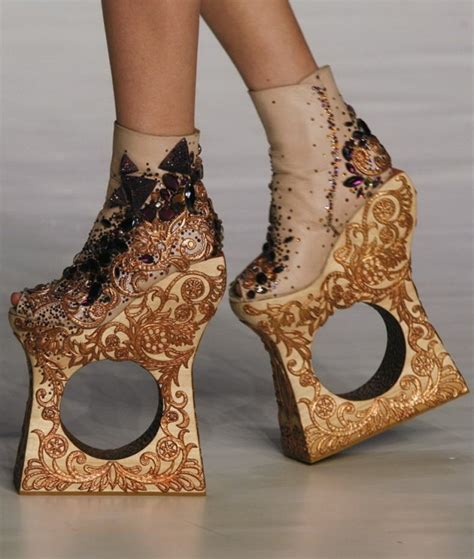 couture shoes haute couture shoes by guo pei image maosuit