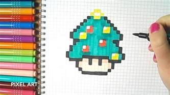 pixel champignon mario sapin 203