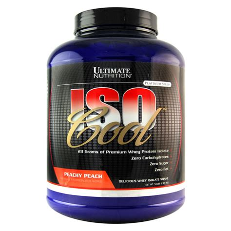 Whey Iso Cool ultimate nutrition iso cool premium whey protein