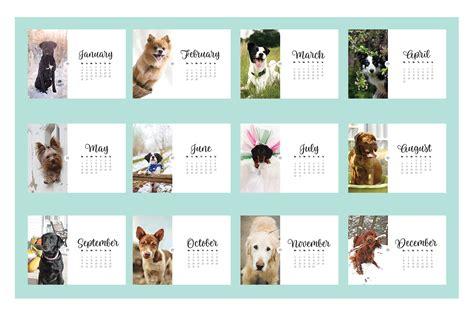 Calendar 2018 Dogs Calendar 2018 By Ibelina Pirulina Design Bundles