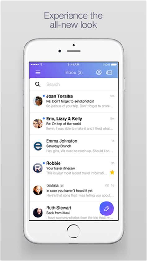 yahoo mail new layout 2015 nouveau design pour yahoo mail app ux mobileux mobile