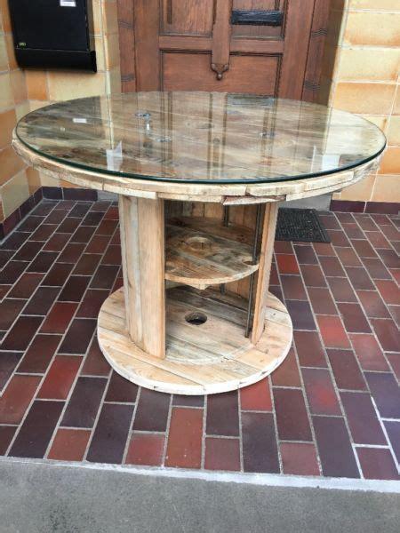 Kabeltrommel Aus Holz by Kabeltrommel Holz Tisch Bauen Bvrao