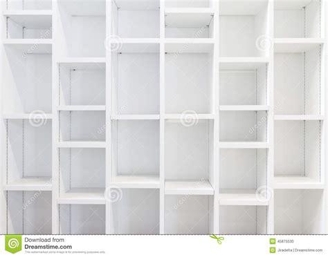 white library bookcase empty white bookcase stock photo image 45875530