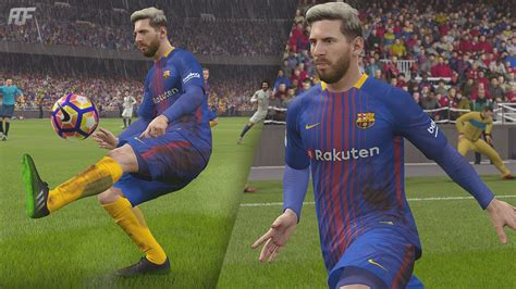 barcelona fifa 18 fifa 18 fc barcelona new home kit 17 18 youtube