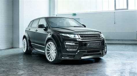 land rover is made by made by hamann range rover evoque na druhou mafia cars