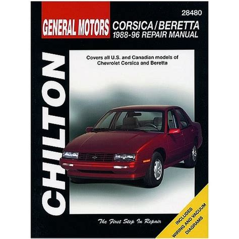 car maintenance manuals 1996 chevrolet corsica navigation system 1988 1996 corsica beretta chilton manual northern auto parts